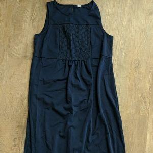 Old Navy maternity cotton Navy dress size small